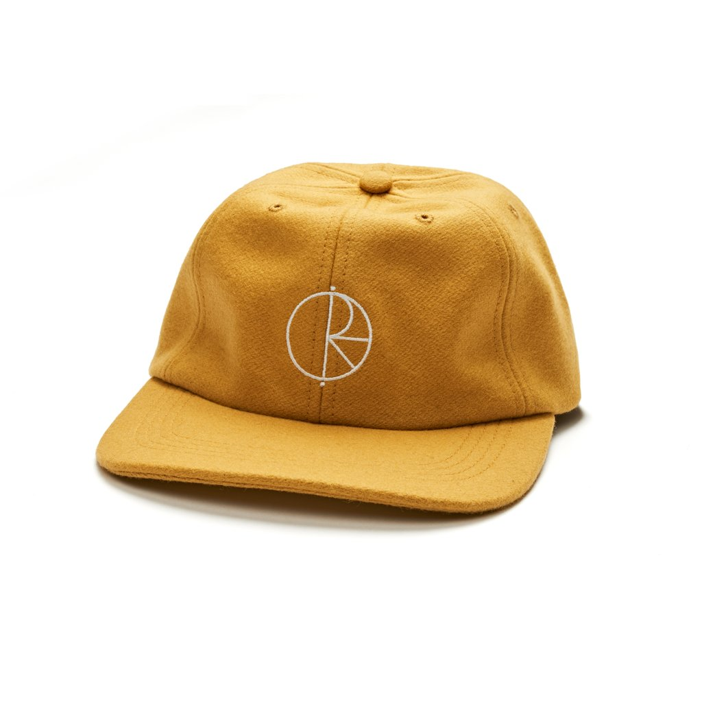 폴라스케이트코볼캡  WOOL CAP YELLOW  POLAR SKATE CO