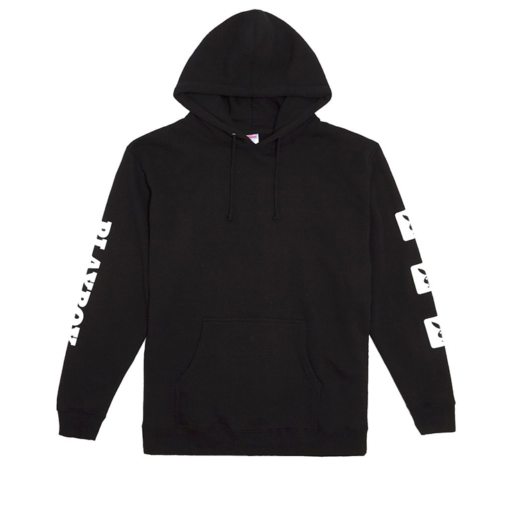 굿월스 후드  GW X PB BUNNY HOODIE BLACK  GOOD WORTH