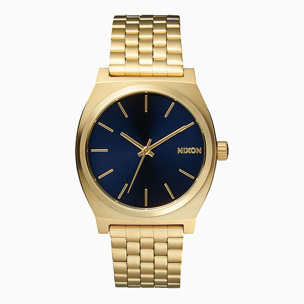 닉슨 시계  TIME TELLER ALL LIGHT GOLD/COBALT NIXON