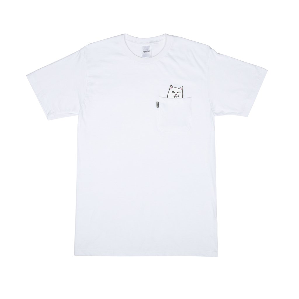 립앤딥 포켓티LORD NERMAL POCKET TEE WHITERIPNDIP
