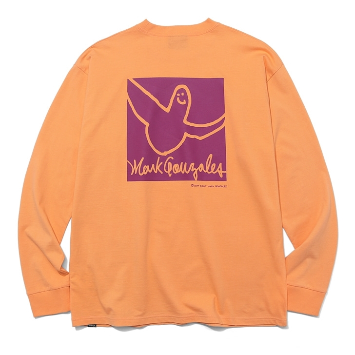 마크곤잘레스 롱슬리브  COLLAR ANGEL LONG SLEEVE PEACH  MARKGONZALES