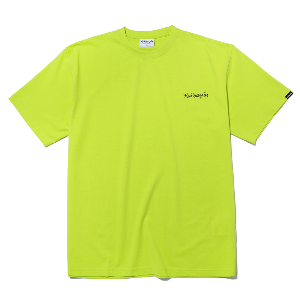 마크곤잘레스 티셔츠M/G SMALL SIGN LOGO T-SHIRTS NEONMARKGONZALES