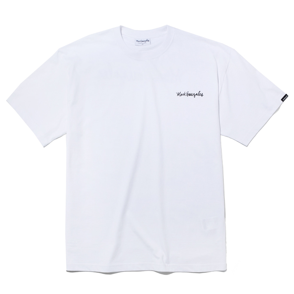 마크곤잘레스 티셔츠M/G SMALL SIGN LOGO T-SHIRTS WHITEMARKGONZALES