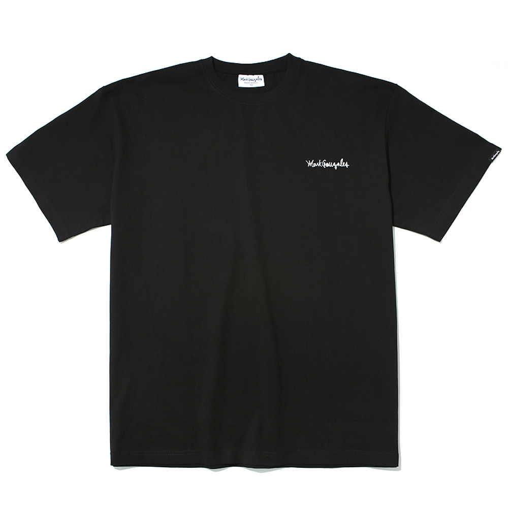 마크곤잘레스 티셔츠M/G SMALL SIGN LOGO T-SHIRTS BLACKMARKGONZALES
