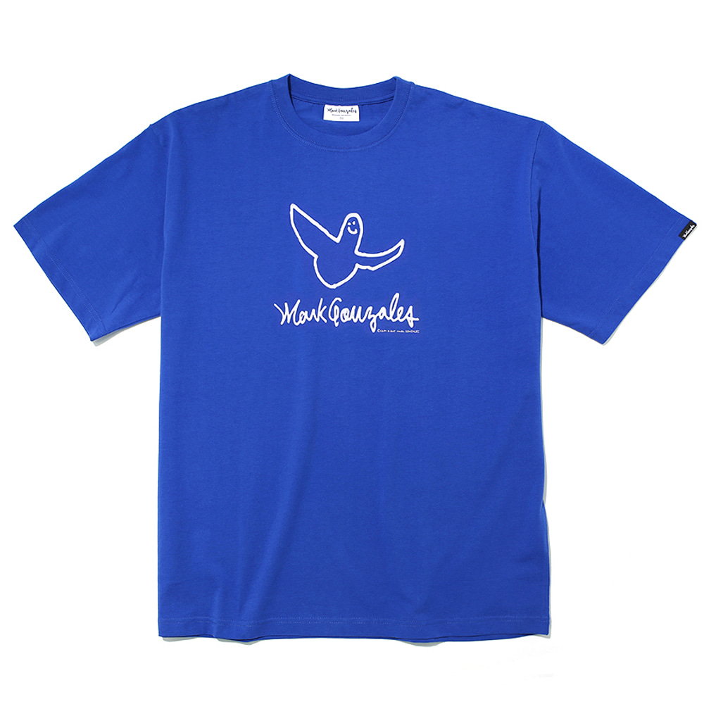 마크곤잘레스 티셔츠M/G ANGEL LOGO T-SHIRTS BLUEMARKGONZALES