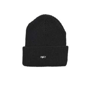 오베이 비니  JUMBLED BEANIE BLACK  OBEY