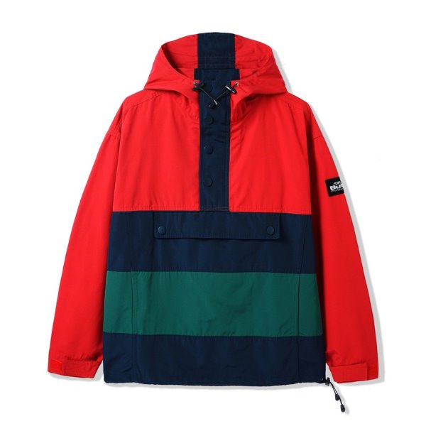버터굿즈 아노락  SANTOSUOSSO JACKET RED / NAVY / FOREST  BUTTER GOODS