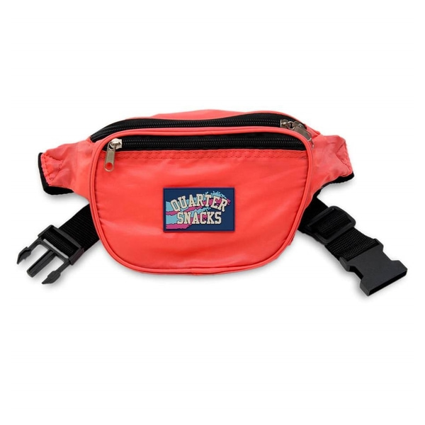 쿼터스낵스 가방  Party Satchel Red  QUARTER SNACKS