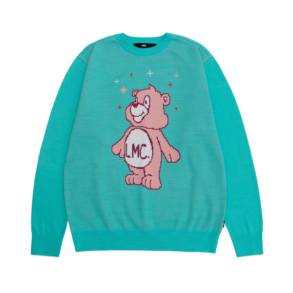 LMC 니트  BEAT KNIT SWEATER MINT  엘엠씨