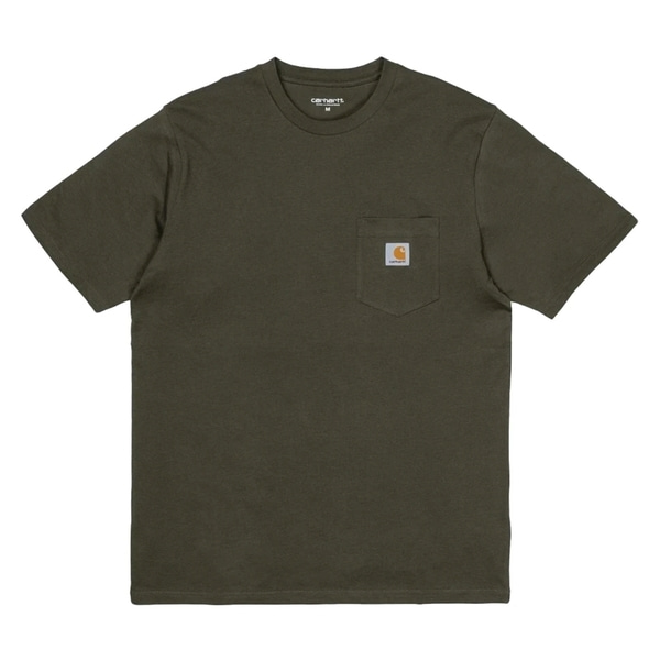 칼하트 티셔츠  POCKET LOOSE T-SHIRT CYPRESS CARHARTT WIP