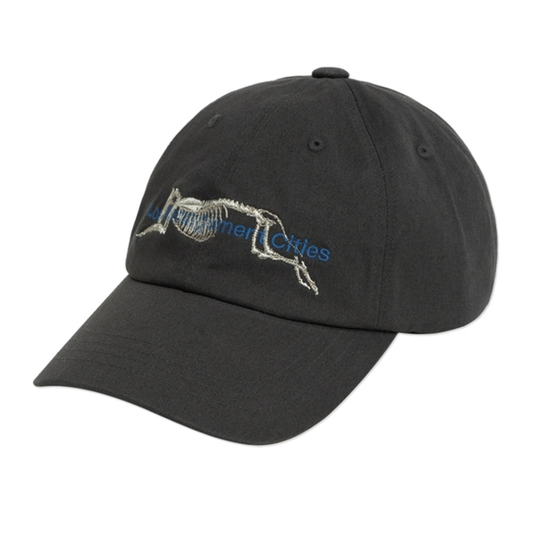 LMC 모자   SKELETON DOG 6 PANEL CAP CHARCOAL  엘엠씨