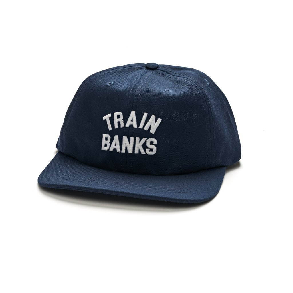 폴라스케이트코 볼캡  TRAIN BANKS CAP NAVY  POLAR SKATE CO