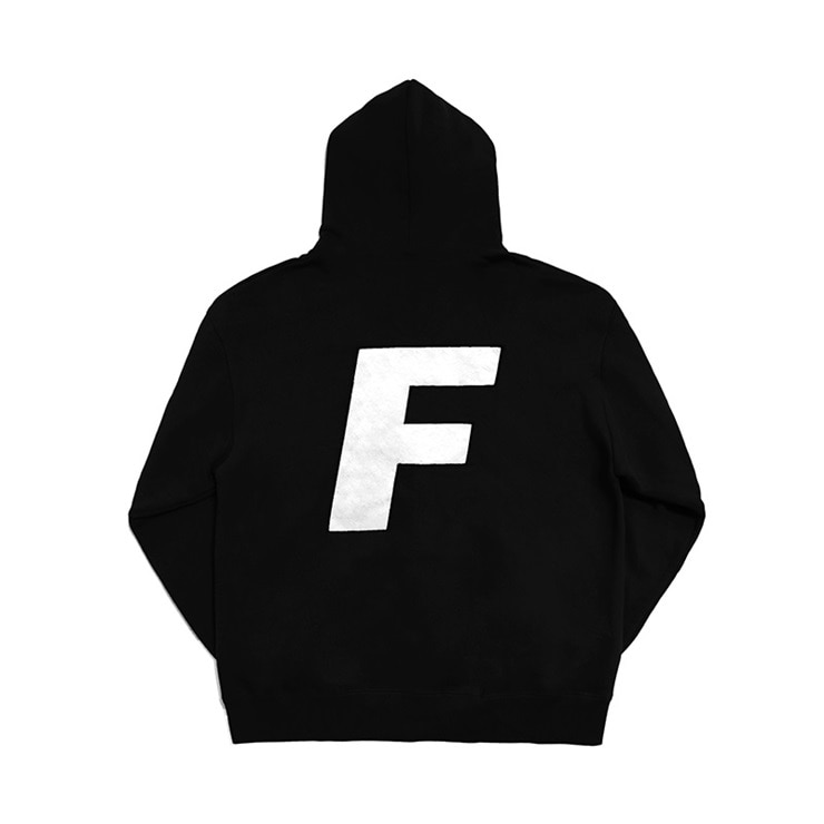 프레시안티유스 후드  Logo Hood Sweater Black  Fresh anti youth
