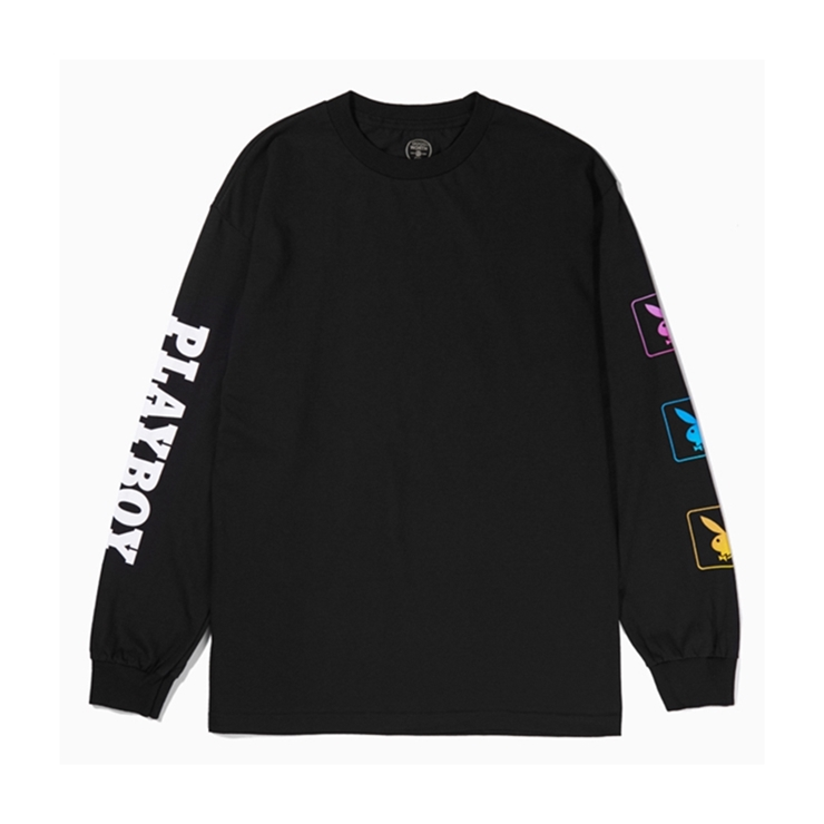굿월스 롱슬리브  GW X PB BUNNY L/S TSHIRT BLACK  GOOD WORTH