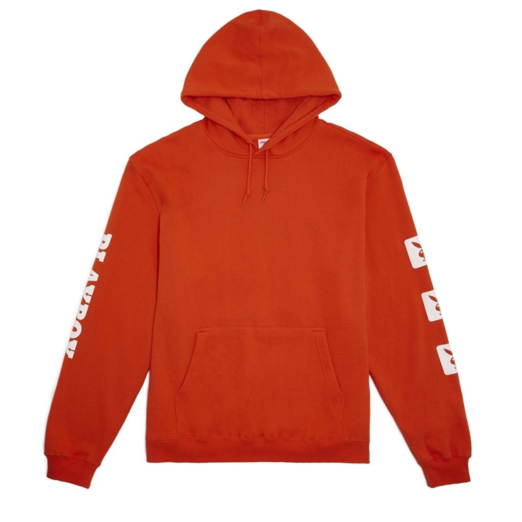 굿월스 후드  GW X PB BUNNY HOODIE SAFETY ORANGE  GOOD WORTH