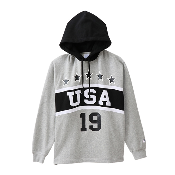 챔피온 후드  Pullover Hooded Sweatshirt BLACK (C3-M411)  CHAMPION