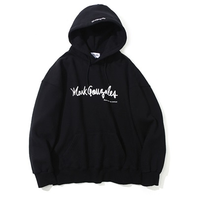 마크곤잘레스 후드MARK GONZALES SIGN LOGO HOODIE BLACKMARKGONZALES