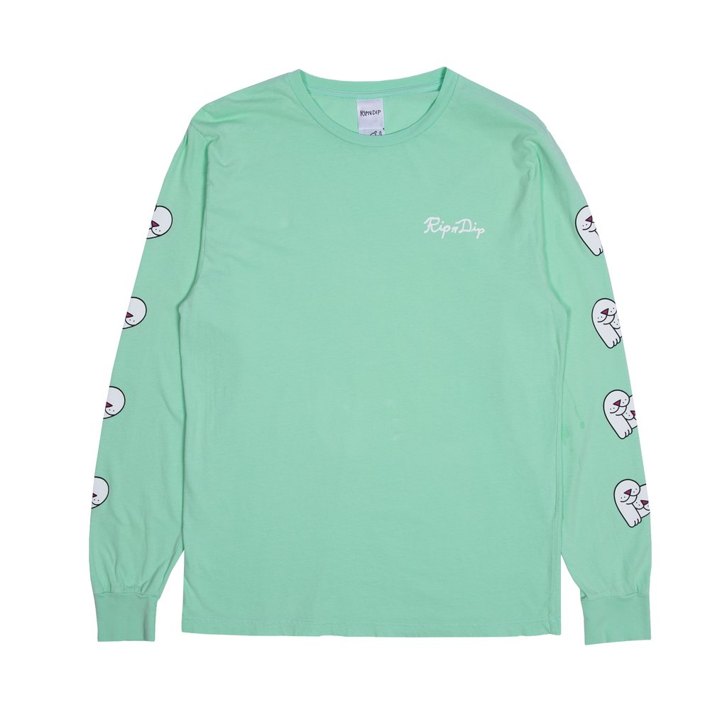 립앤딥 롱슬리브LOVE NERMS L/S MINT RIPNDIP