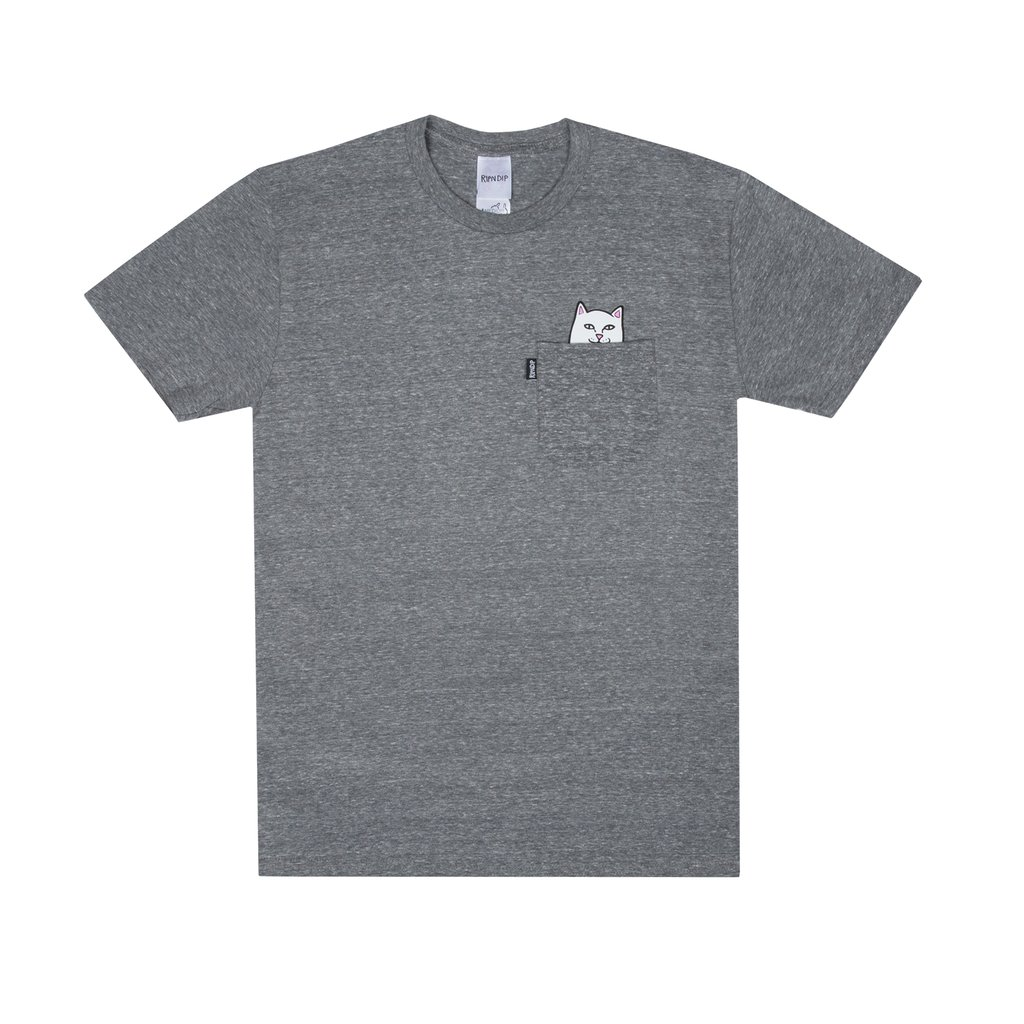 립앤딥 포켓티LORD NERMAL POCKET TEE CHARCOALRIPNDIP