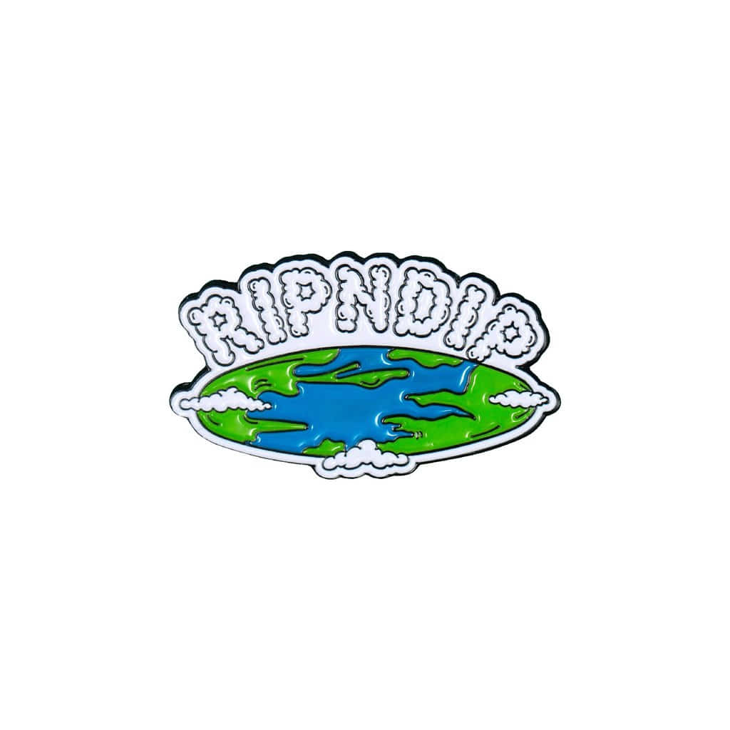 립앤딥 핀FLAT EARTH PIN MULTIRIPNDIP