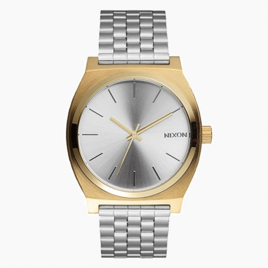 닉슨 시계  TIME TELLER ALL LIGHT GOLD/SILVER NIXON