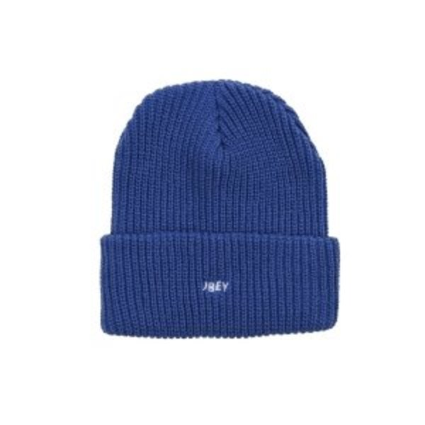 오베이 비니  JUMBLED BEANIE ROYAL  OBEY