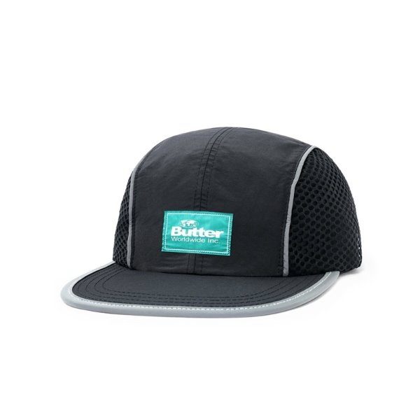 버터굿즈 캠프캡  EXPEDITION 4 PANEL CAP BLACK  BUTTER GOODS