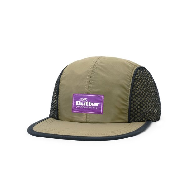 버터굿즈 캠프캡  EXPEDITION 4 PANEL CAP ARMY  BUTTER GOODS