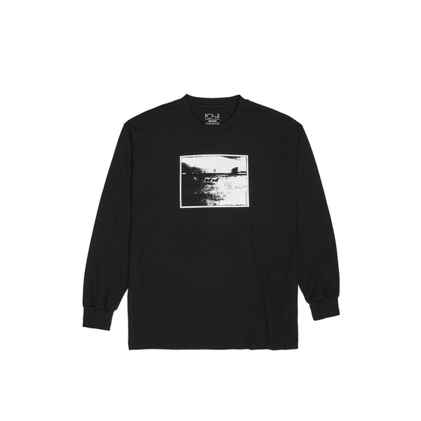 폴라 스케이트 코 롱슬리브 Lost Longsleeve BLACK  POLAR SKATE CO.