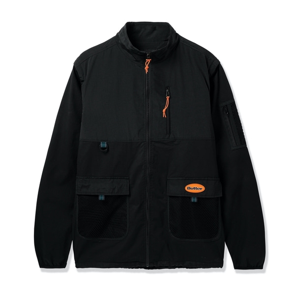 버터굿즈 자켓  FIELD COVERTABLE JACKET BLACK  BUTTER GOODS