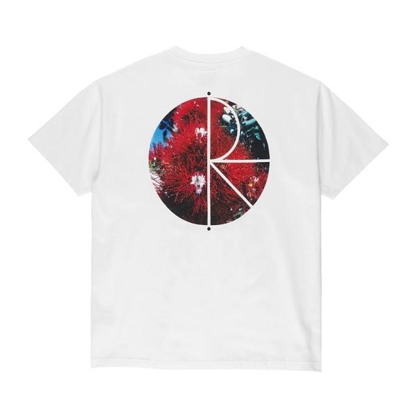 폴라스케이트 반팔 티셔츠  CALLISTEMON FILL LOGO TEE WHITE  POLAR SKATE CO