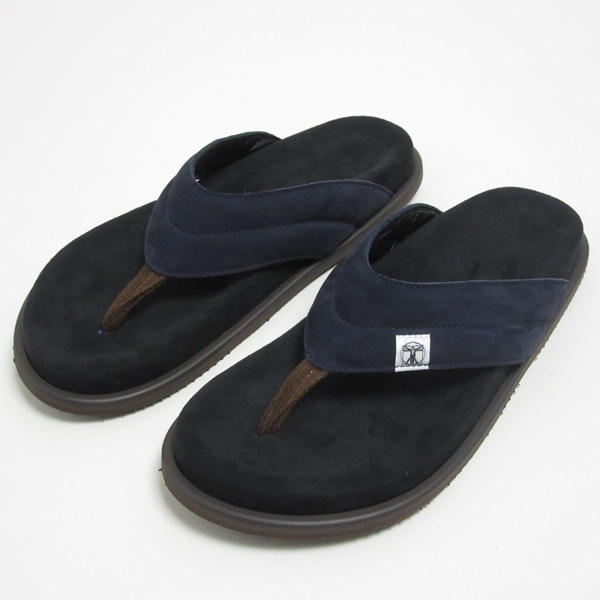 옴브레니노 신발  DOUBLE FOOT WEAR SUEDE SANDAL BLACK  HOMBRE NINO