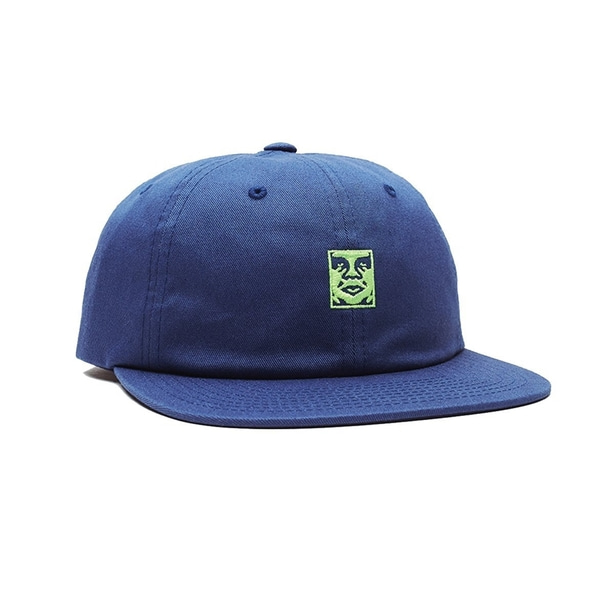 오베이 볼캡  ICON 6 PANEL STRAPBACK NAVY  OBEY