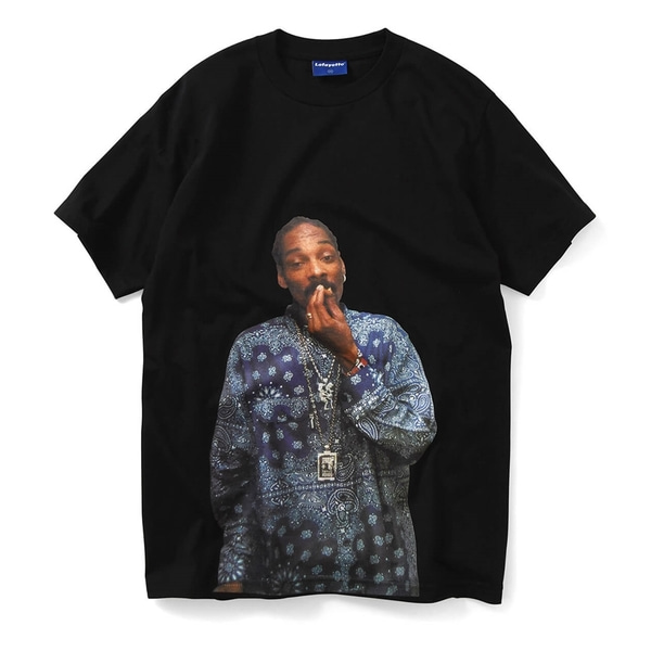 라파예트 반팔 티셔츠  SNOOP DOG TEE BLACK  Lafayette