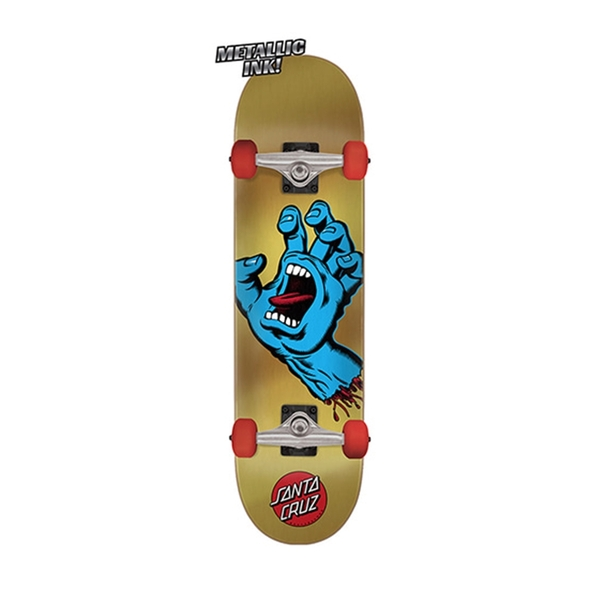 산타크루즈 컴플릿 보드  Screaming Hand Sk8 Complete 7.75in X 31.4in  SANTA CRUZ