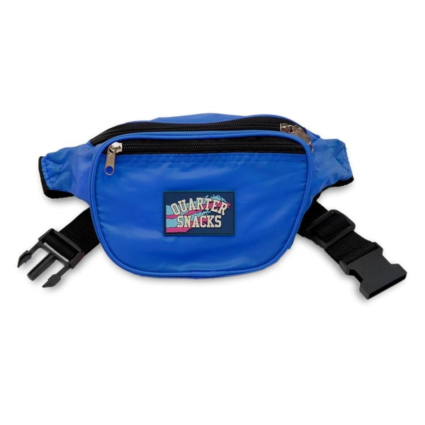 쿼터스낵스 가방  Party Satchel Royal Blue  QUARTER SNACKS