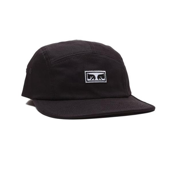 오베이 캠프캡  EYES 5 PANEL HAT BLACK  OBEY