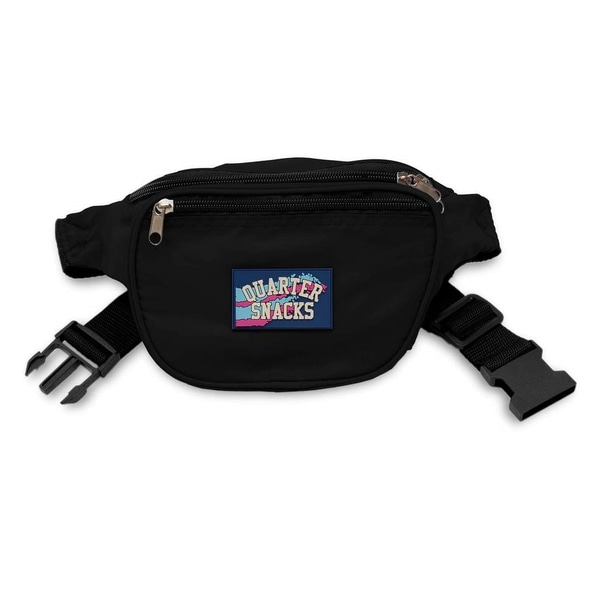 쿼터스낵스 가방  Party Satchel Black  QUARTER SNACKS