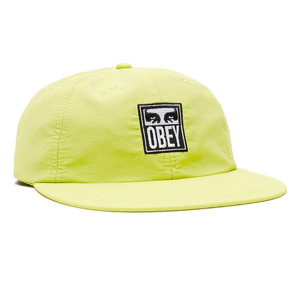 오베이 볼캡  ICON EYES 6 PANEL STRAPBACK KEY LIME  OBEY