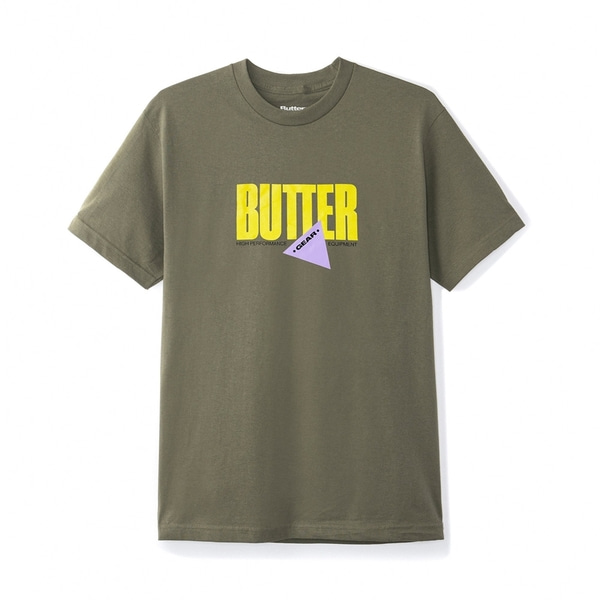 버터굿즈 티셔츠  GEAR TEE ARMY  BUTTER GOODS