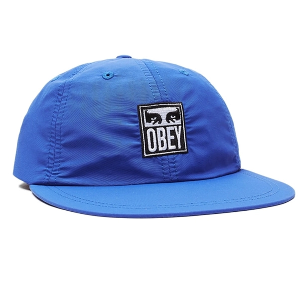 오베이 볼캡  ICON EYES 6 PANEL STRAPBACK ULTRAMARINE  OBEY