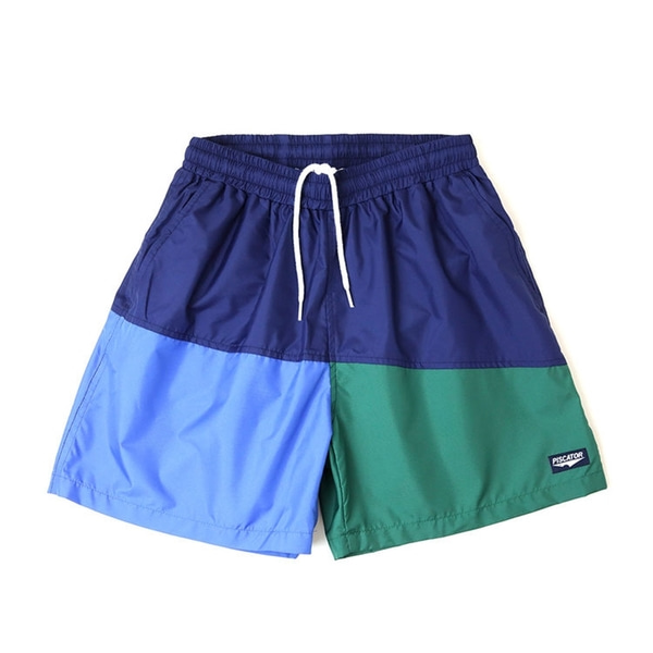 피스케이터 반바지  Pacific Shorts Navy  PISCATOR