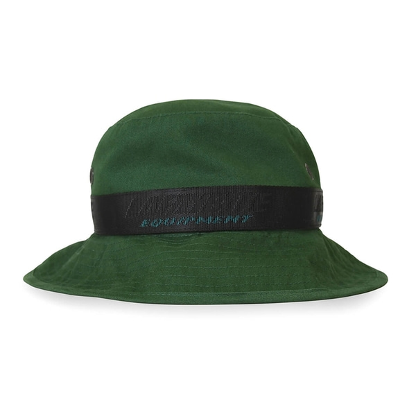 라파예트 부니햇  EQUIPMENT LOGO BOONIE HAT GREEN  Lafayette