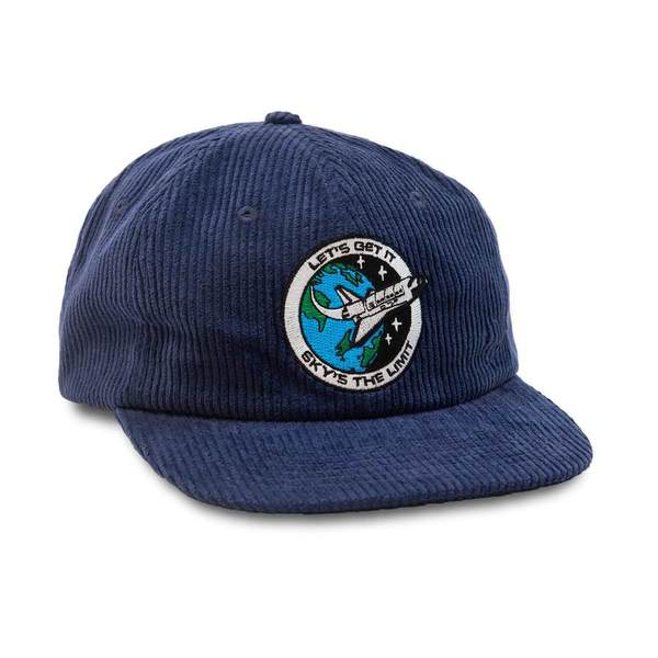 쿼터스낵스 볼캡  Sky's The Limit Cap navy Corduroy  QUARTER SNACKS