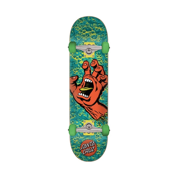 산타크루즈 컴플릿 보드  Screaming Hand Foam Sk8 Complete 8.0in X 31.6in  SANTA CRUZ