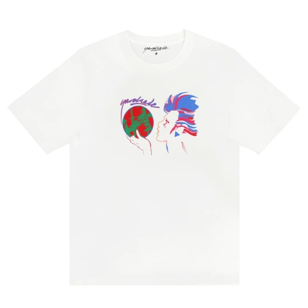 야드세일 티셔츠  World T-shirt White  Yard Sale