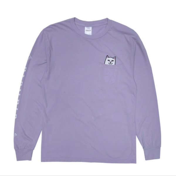 립앤딥 롱슬리브  LORD NERMAL L/S POCKET LAVENDER  RIP N DIP
