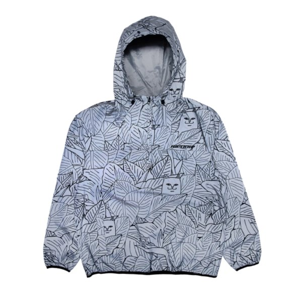 립앤딥 자켓  NERMAL LEAF REFLECTIVE AANORAK JACKET  RIP N DIP