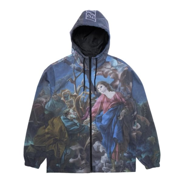 립앤딥 자켓  MAJESTIC HOODED COACHES JACKET MULTI  RIP N DIP