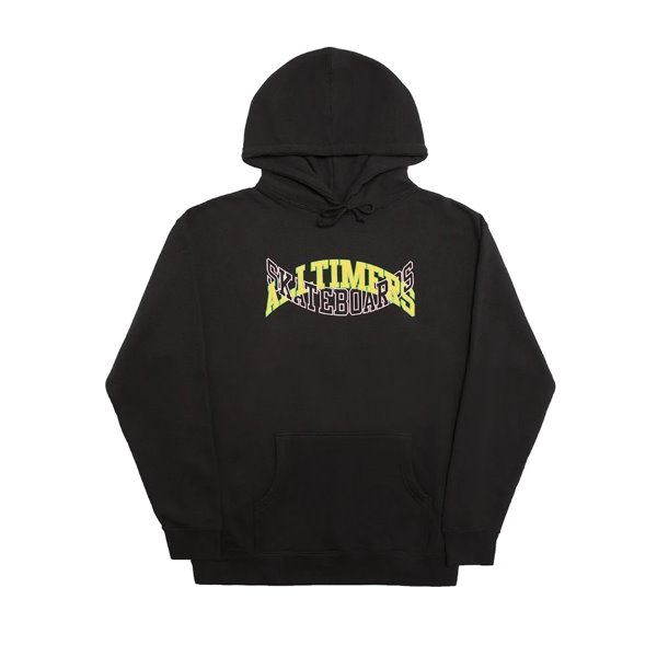 ALLTIMERS 후드  ARCH-TECH HOODY BLACK  ALLTIMERS SKATEBOARDS